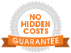 No hidden cost icon
